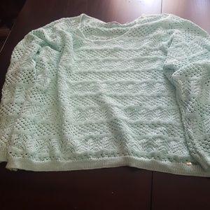 Calvin Klein Womens Green Sweater